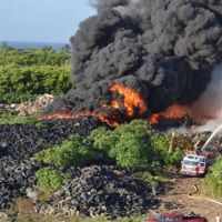 Burning-tyres-at-the-George-Town-dump