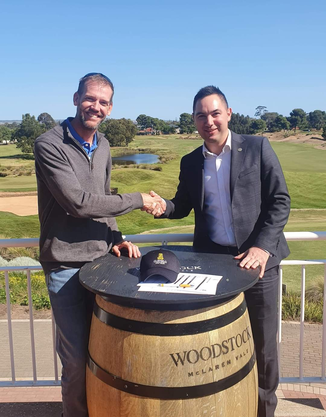 Glenelg Golf Club appoints Van Der Veen