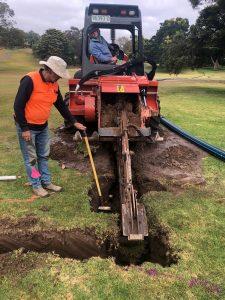 irrigation upgrade