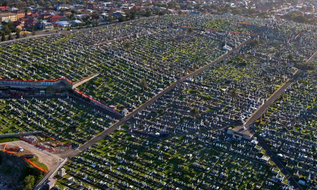 burial crisis in Sydney
