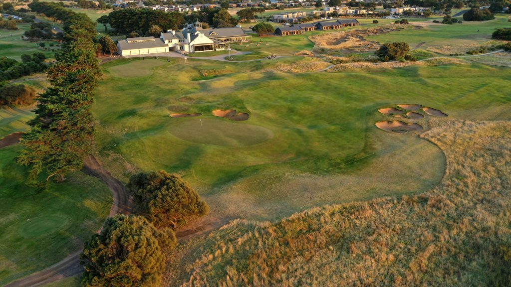 new short course at 13th beach